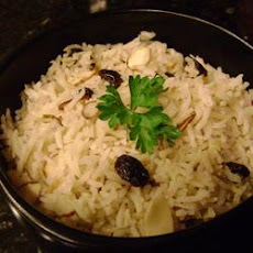 Rice with Almonds and Raisins