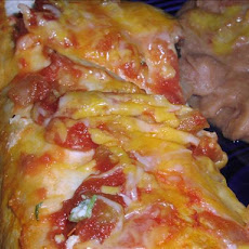 Cheese Enchiladas - OAMC Ww