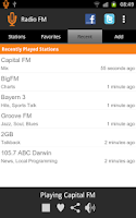 Screenshot of Radio FM
