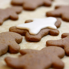 Fat Free Gingerbread Cookies