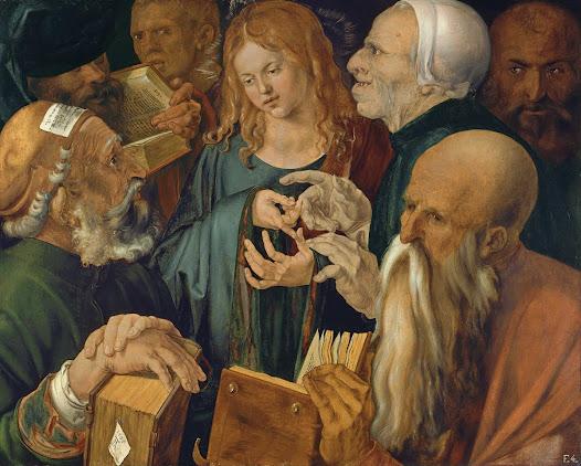 Durer Albrecht, Cristo fra i dottori