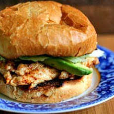 Chipotle Grilled Chicken with Avocado Sandwich