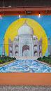 Taj Mahal Wall Painting