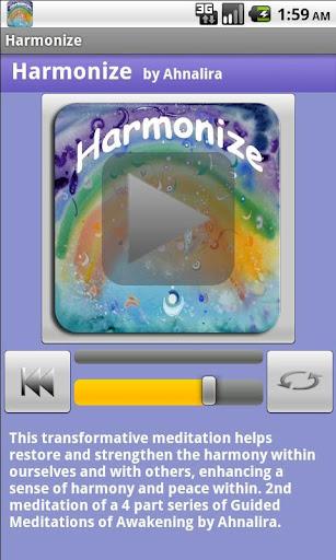 Harmonize Guided Meditation