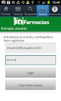Screenshot of IM Farmacias