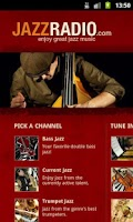 Screenshot of JAZZRADIO
