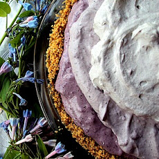 Blueberry Cheese Chiffon Pie