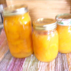 Canned Apricots With Orange Pineapple Syrup