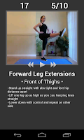 Screenshot of Daily Leg Workout