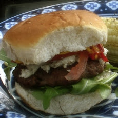 Blue Cheese Buffalo Burgers