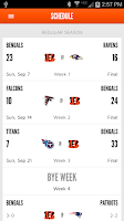 Screenshot of Cincinnati Bengals Mobile