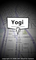 Screenshot of Yogi - Send Map(MMS,SNS)
