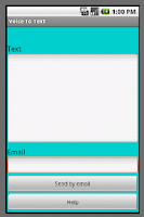 Screenshot of Voice To Text