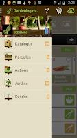 Screenshot of Gardening Manager