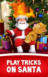 Talking Santa meets Ginger APK Descargar