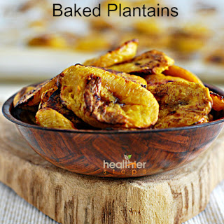 Easy Oven Baked Sweet Plantains