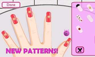 Screenshot of A-List Girl ★ Christmas Nails