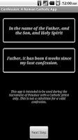 Screenshot of Confession: Roman Catholic App
