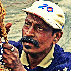 Searching Eyes by Saptak Banerjee - People Portraits of Men ( plan, searching, making, man, human, eyes )