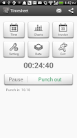 Screenshot of Timesheet - Time Tracker(Paid)