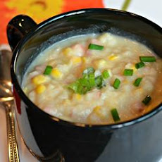 Potatoes and Corn Soup