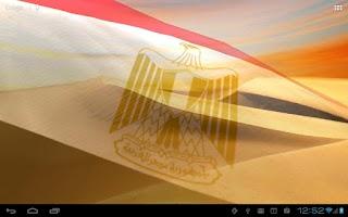 Screenshot of Flags of Africa Live Wallpaper