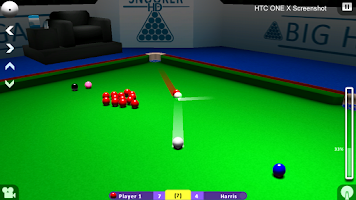 Screenshot of INTERNATIONAL SNOOKER