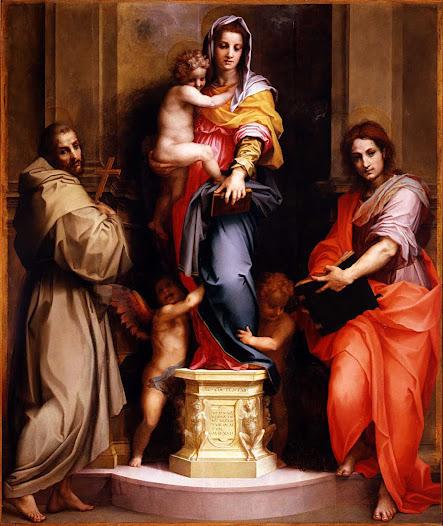 Sarto Andrea del, Madonna delle arpie