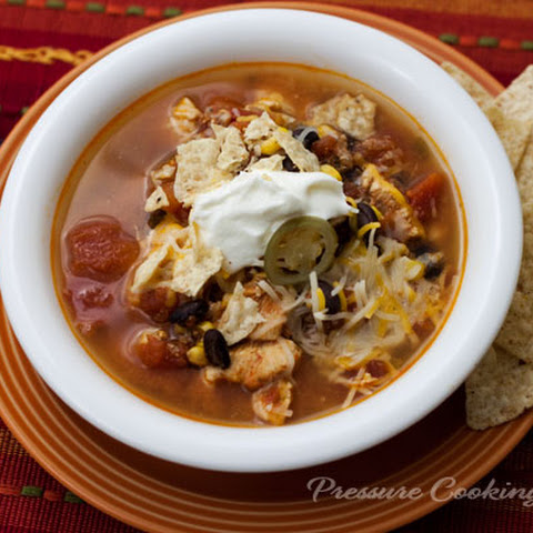 Pressure Cooker Spicy Chicken Soup