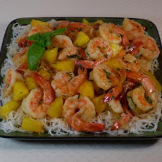 Pineapple Curry With Jumbo Shrimps