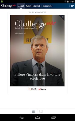 ChallengeSoir par Challenges - screenshot