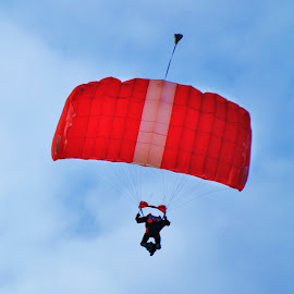 Red Parachute  by Koh Chip Whye - Sports & Fitness Other Sports ( sport )