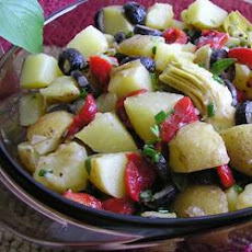 Balsamic Vinegar Potato Salad