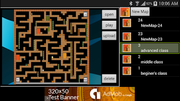 Screenshot of MapEditor for Confused Escape2