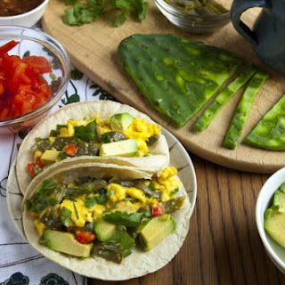 Make These Egg And Cactus-Paddle Tacos