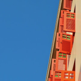 Red Windows by Koh Chip Whye - Buildings & Architecture Other Exteriors (  )