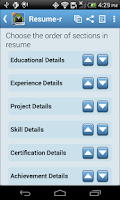 Screenshot of Resume-r