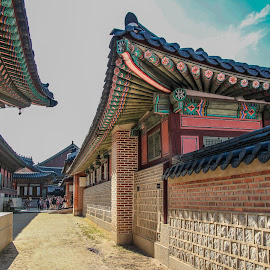 Gwanghamun Traditional Village by Jhing Summers - Buildings & Architecture Public & Historical ( traditional village, historical village, seoul korea, gwanghamun village )
