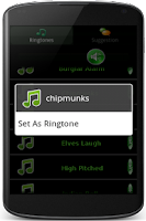 Screenshot of High Pitch Ringtones