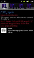 Screenshot of GSII_Repair