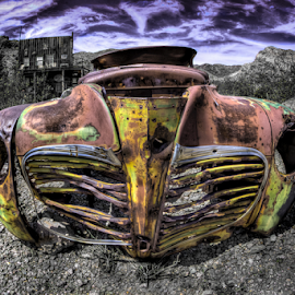 Old ride by Dave Zuhr - Transportation Automobiles ( car, old, d_zuhr, rust, dzuhr, abandoned, decay,  )