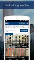 Screenshot of NH Hotels Reservations