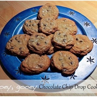 Ooey, Gooey Chocolate Chip Drop Cookies
