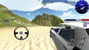 Screenshot of Real Police Car Racing 3D