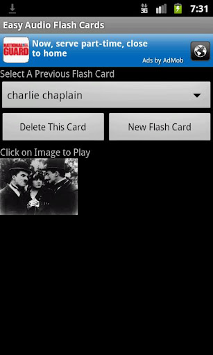 Easy Audio Flash Cards