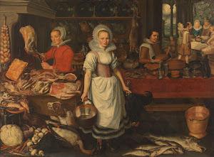 RIJKS: attributed to Pieter Cornelisz. van Rijck: painting 1620