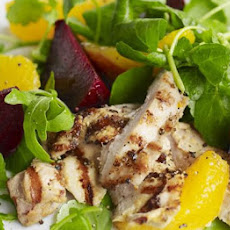 Mustard Griddled Chicken, Beetroot & Orange Salad