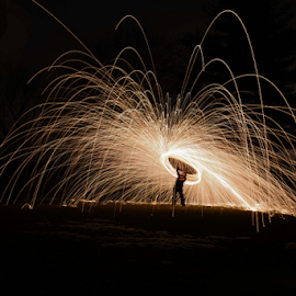 Lasso by Riley Herriman - Abstract Light Painting