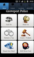 Screenshot of Groveport Police