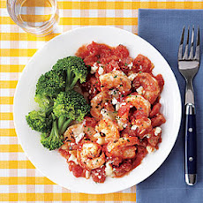 Roasted Shrimp with Tomatoes